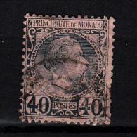 1855 N° 7  OBLITERE  CATALOGUE YVERT&TELLIER - Monaco