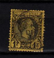1855   N° 9   OBLITERE  CATALOGUE YVERT&TELLIER - Monaco