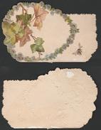 Mignonette Gaufrée Klimop Lierre   11 X 7 Cm - Vieux Papiers