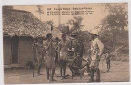 CP - CONGO BELGE - 1924 - M. FRANCK, Ministre Des Colonies En Route. Préo - - Congo Belge - Autres