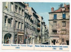 25 Besançon - La Maison Natale De Victor Hugo Et Des Frères Auguste Et Louis Lumière - Besancon