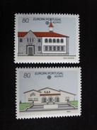 """Açores - Europa 1990 """"Bureaux De Postes"""" - Y.T. 399/400 - Neuf ** Mint MNH - Europa-CEPT"""