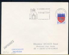 FRANCE -  CATHEDRALE XVII Secolo - CAVAILLON - OROLOGIO SUL CAMPANILE - Orologeria