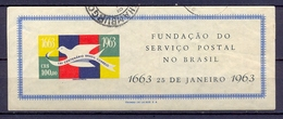 BRESIL - BRAZIL - 1963 -Tricentenaire Fondation Service Postal - YT BF 13  - (o) - Blocks & Kleinbögen