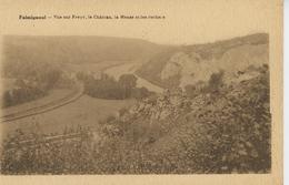 BELGIQUE - DINANT - FALMIGNOUL - Vue Sur Freyr , Le Château , La Meuse Et Les Rochers - Dinant