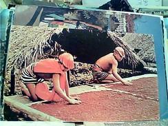 ECUADOR - INDIOS COLORADOS DE SANTO DOMINGO SECANDO ACHIOTE ROSSO PER CAPELLI V1970 FW9114 - Ecuador