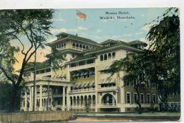 HONOLULU - Waikiki , Moana Hôtel - Honolulu