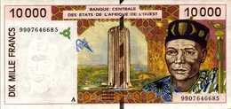 C OTE D'IVOIRE 10000 FRANCS De 1999   Pick 114Ah  AU/SPL - Côte D'Ivoire