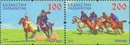 Kz 985-986 Zd  IV Festival Of National Sports 2016 - Kasachstan