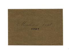 ETIQUETTE DE VIN    MOULIN A VENT - 1924 - - Rouges