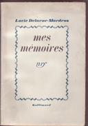 Mes Mémoires - Lucie Delarue-Mardrus - Biographie - - Livres, BD, Revues