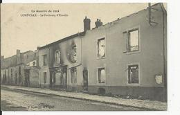 Luneville   2 Cartes  Faubourg  D'Einville - Luneville