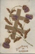 C Photo  - Guerre 1914-1918- Souvenir De Lorraine Avec Une Croix - War 1914-18