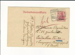 Etapes, 1917 , Zivilarbeiterpostkarte , Gent #6461 - [OC26/37] Staging Zone