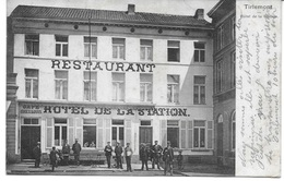 TIENEN (3300) Tirlemont Hotel De La Station - Tienen