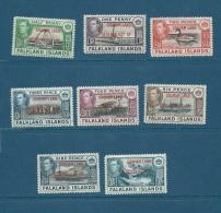 FALKLAND/ GRAHAM LAND - 1944  - Yvert N° 9 à 16 ** Sans Charniere - Cw  7302 - Falkland Islands