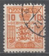 Denmark 1934. Scott #I5 (U) Coat Of Arms - Port Dû (Taxe)