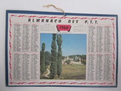 Calendrier 1960 Almanach Des PTT - Calendriers