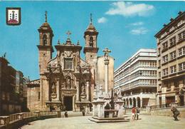 PN1024 - POSTAL - LA CORUÑA - IGLESIA DE SAN JORGE - La Coruña