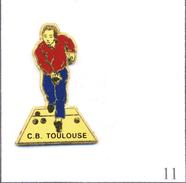 PIN´S Sport - Pétanque / Club De Toulouse (31). Non Estampillé. Zamac. T475-11A - Petanca