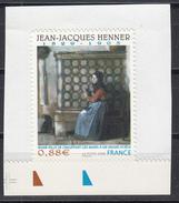 Jean Jacques Henner, AUTO ADHESIF N° 223,  2008  Neuf **   Grande Marge - Adhésifs (autocollants)
