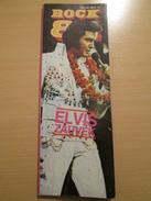 ELVIS PRESLEY Rare Yugoslav Music Pop Rock Magazine 1980's - Books, Magazines, Comics