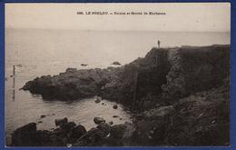 29 LE POULDU Pointe Et Grotte De Kerhéron - Animée - Le Pouldu