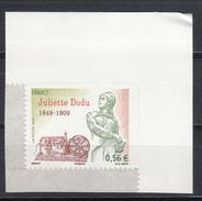 Juliette Dodu, AUTO ADHESIF N° 371,  2009  Neuf **   Grande Marge - Adhésifs (autocollants)