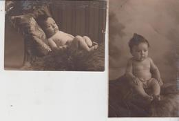 Fotocartolina  1928 Bambino Nudo Bébé Nu Naked Baby - Bambini