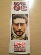 JOHN LENNON Rare Yugoslav Music Pop Rock Magazine 1980's - Slav Languages