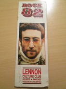 JOHN LENNON Rare Yugoslav Music Pop Rock Magazine 1980's - Books, Magazines, Comics