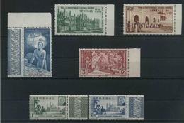 1941/2 Senegal, Lotto Serie Complete , Serie Completa Nuova (**) - Nuovi
