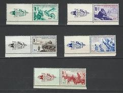 """LVF YT 6 à 10 Avec Vignette """" Série Borodino """" 1942 Neuf** - Guerres"""