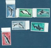 FALKLAND ISLAND 1980 YT N° 293 à 298 **  Bord De Feuille  -  Cw 7702 - Falkland Islands