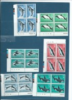 FALKLAND ISLAND 1980 YT N° 293 à 298 **  Bloc De 4  Bord De Feuille  -  Cw 7802 - Falkland Islands