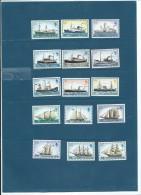 Falkland - 1977 - Yvert N° 254 à 268 ** - Bateaux  -  Cw 7901 - Falkland Islands