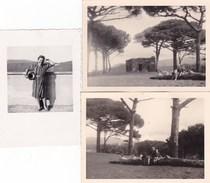 GENZANO - ROMA LOTTO DI 7 FOTO UNA DEL 1940 E SEI DEL 1965 -  CON DIDASCALIA SUL RETRO - Lieux