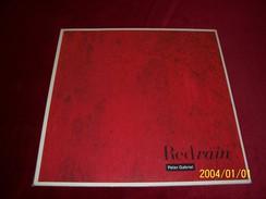 PETER  GABRIEL  °  RED RAIN - 45 Rpm - Maxi-Single