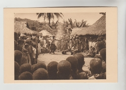 CPSM ETHNIQUE CULTURE D'AFRIQUE - GABON : Fétichisme Le Poison D'épreuve - Afrique