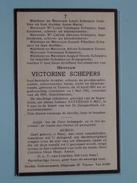 DP Victorine SCHEPERS - Tienen 10 April 1891 / 1 Mei 1951 ( Detail Zie Foto´s ) !