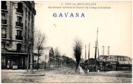 92 ISSY-les-MOULINEAUX - Boulevard Galliéni Et Entrée Du Camp D'aviation - Issy Les Moulineaux