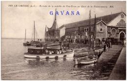 44 LE CROISIC - Arrivée De La Vedette De Pen-Bron Au Quai De La Poissonnerie - Le Croisic