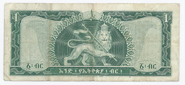 Ethiopia - One Dollar --1966 - Ethiopie