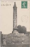 D36 - CIRON - LE LAMPADAIRE - (FEMME AVEC UNE OMBRELLE) - France