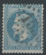 Lot N°33517   N°29, Oblit GC 1535 DOUARNENEZ(28), Ind 18 Ou FONCINE-LE-HAUT (38), Ind 9 - 1863-1870 Napoléon III Lauré