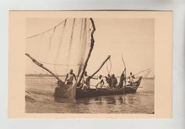 CPSM ETHNIQUE CULTURE D'AFRIQUE - TCHAD : Barque De Pêche Sur Le Chari - Africa