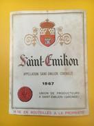 2733 - Saint-Emilion 1967 - Bordeaux