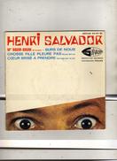 Henri Salvador - M. Boum-Boum - EP Medium 432 919 - Production Salvador - Distribution Philips - Disco, Pop