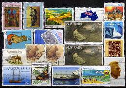 AUSTRALIEN 1980-1984 - Lot 19 Verschiedene  Used - 1980-89 Elizabeth II