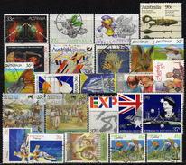 AUSTRALIEN 1985-1989 - Lot 24 Verschiedene Used - 1980-89 Elizabeth II